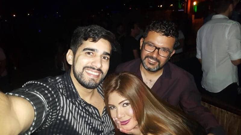 Maitê & Carlos having fun with Fun World Tours