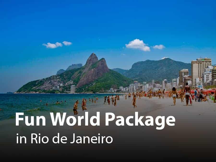 Rio De Janeiro Fun World Package