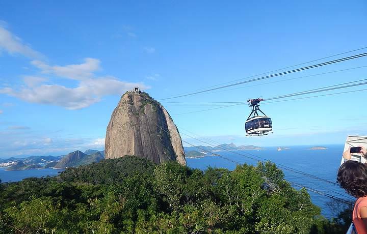 Hiking - Sugarloaf Mountain in Rio de Janeiro