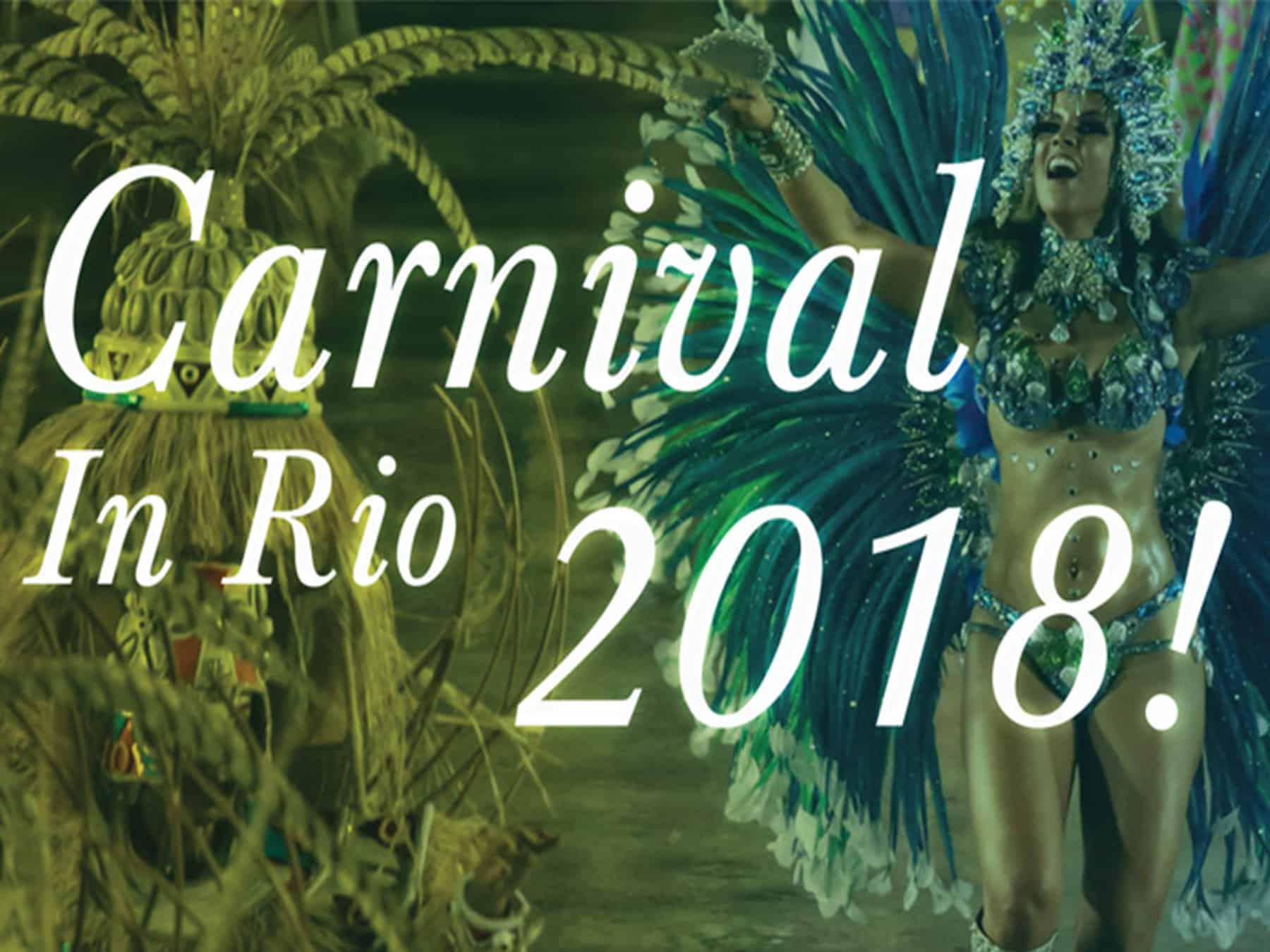 Carnival in Rio 2018